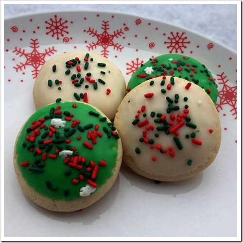 Lofthouse Style Frosted Cookies