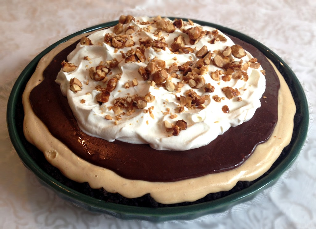Chocolate Peanut Butter Pie | No Empty Chairs
