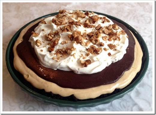 Chocolate Peanut Butter Pie 2