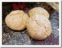 Cake Mix Snowball Cookies 1