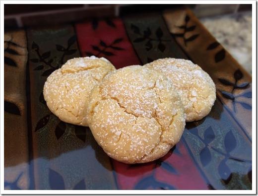 Cake Mix Snowball Cookies 2