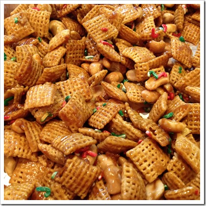 Caramel Christmas Chex Mix 2
