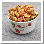 Caramel Christmas Chex Mix