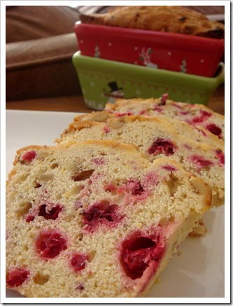 Cranberry Orange Bread 1