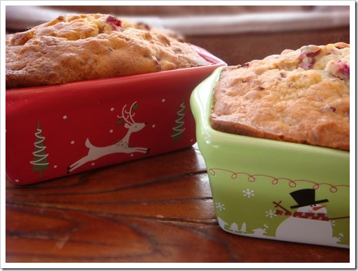 Cranberry Orange Bread 2