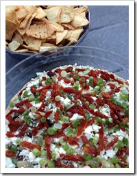 Greek 7 Layer Dip 1