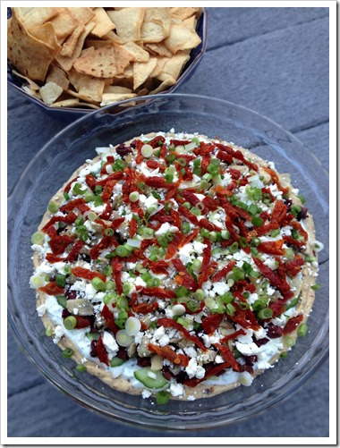 Greek 7 Layer Dip 3