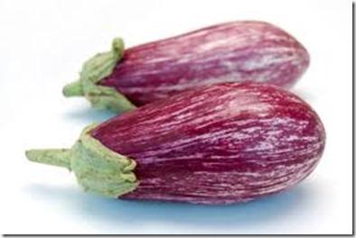Sicilian striped eggplant
