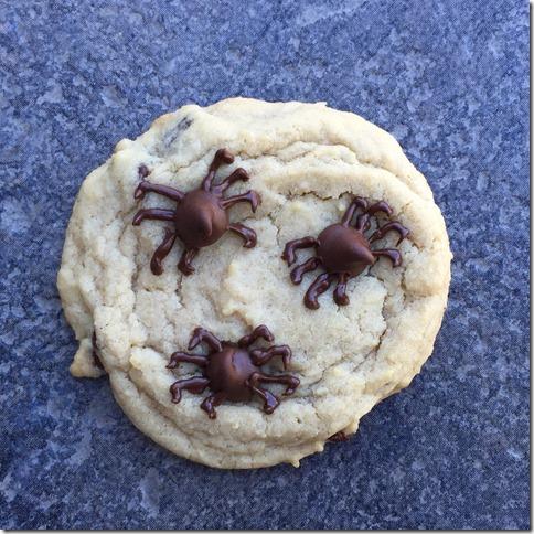 Spider Cookies 4