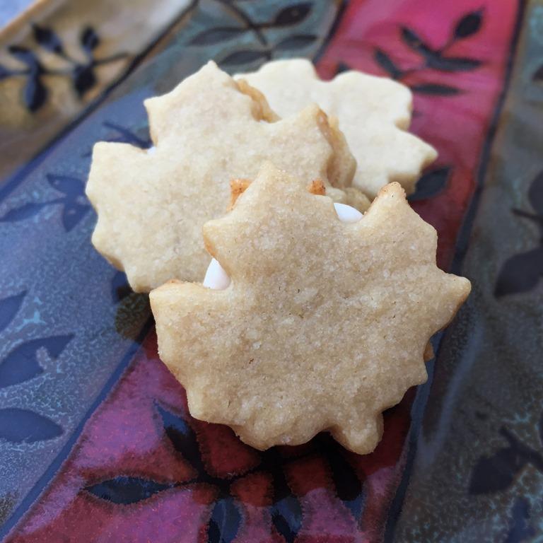 Twelve Days Of Christmas Cookies Maple Cream Sandwich Cookies No