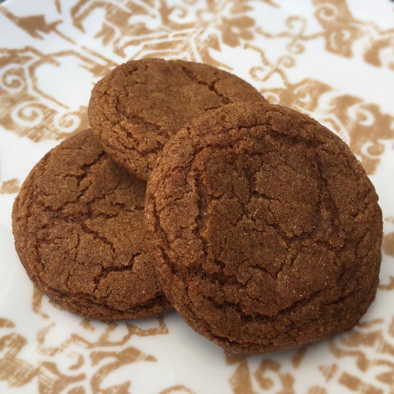 Twelve Days Of Christmas Cookies Chewy Molasses Crinkles No Empty