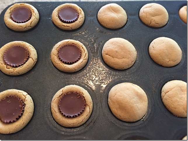 Peanut Butter Cup Cookies 2