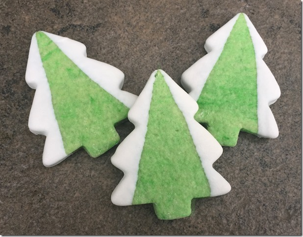 Snow Capped Christmas Trees