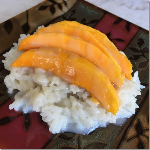 Mango Sticky Rice 1