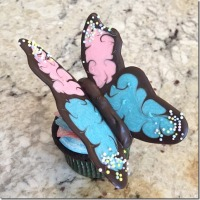 Chocolate Butterfly Cupcakes 13