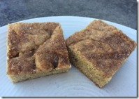 Brown Sugar Cinnamon Squares 1