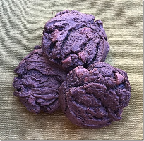 Dark Chocolate Cream Cheese Cookies 1