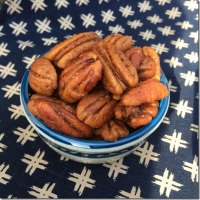 Twelve Days of Christmas Cookies (and other stuff): Roasted Spiced Pecans
