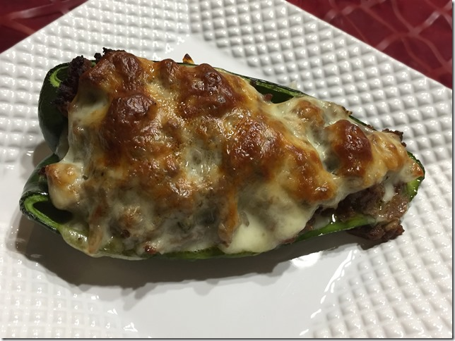 Cheesesteak Stuffed Peppers 2