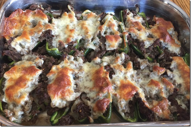 Cheesesteak Stuffed Peppers 4