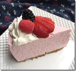 Sugar Free Strawberry Cheesecake 6