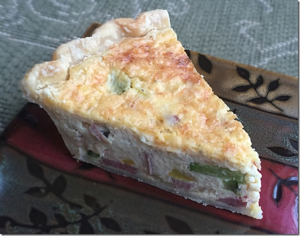 Ham and Zucchini Quiche 1