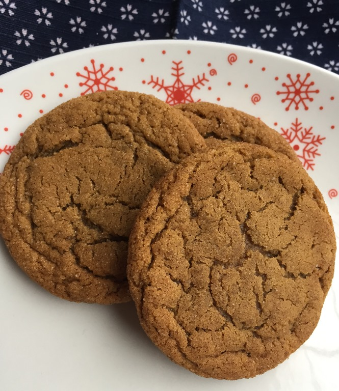 Chewy Molasses Crinkles