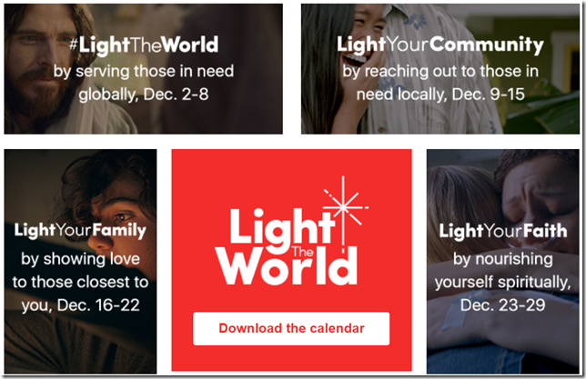 Light the World 2018