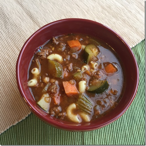 Minestrone Soup 1