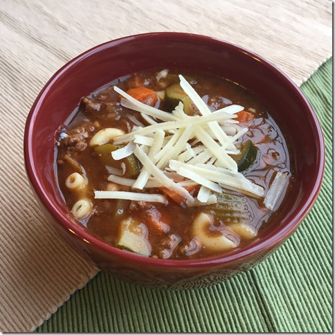 Minestrone Soup 3