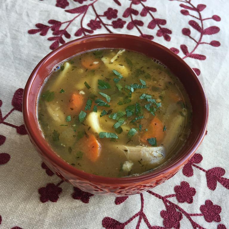Chicken Noodle Soup 1. Egg Noodles: