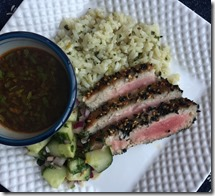 Sesame Crusted Tuna Steaks 1