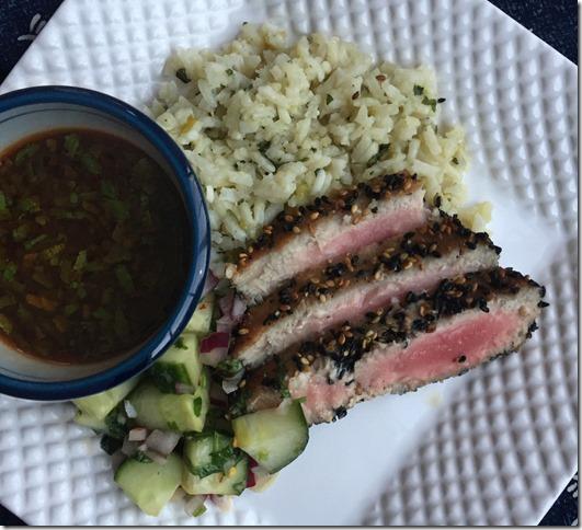 Sesame Crusted Tuna Steaks 1