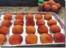 Freezing Peaches 2