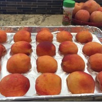Freezing Fresh Peaches (Without Peeling!)