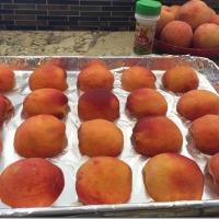 Freezing Fresh Peaches (Without Peeling!)