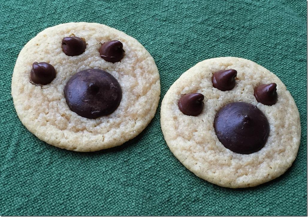 Bear Paw Cookies 2