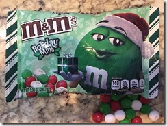 Chocolate Mint m&m's