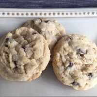 Eleventh Annual Twelve Days of Christmas Cookies: Loaded Chocolate Chip Sandies
