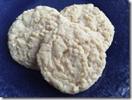 Oatmeal Coconut Cookies 1