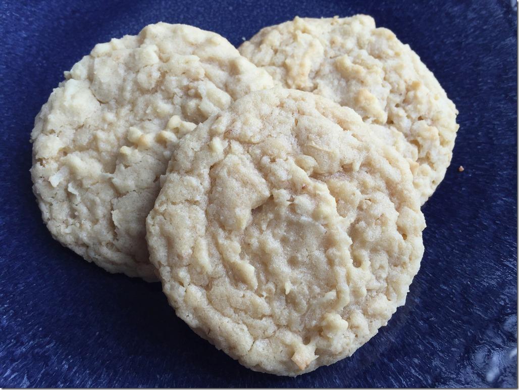 Oatmeal Coconut Cookies 1