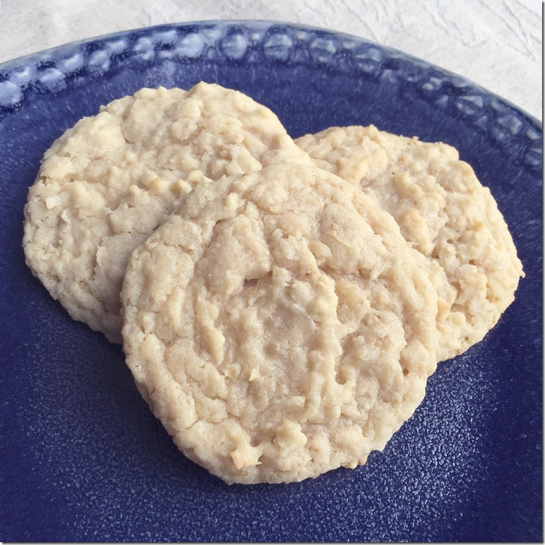 Oatmeal Coconut Cookies 3