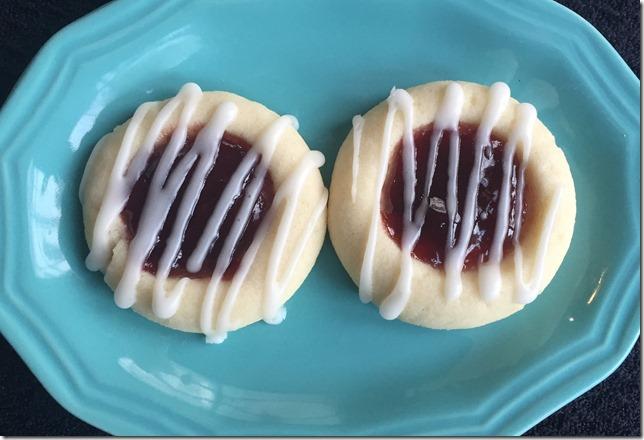Raspberry Almond Thumbprints 3