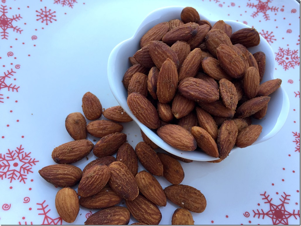 Slow Roasted Spiced Almonds 2