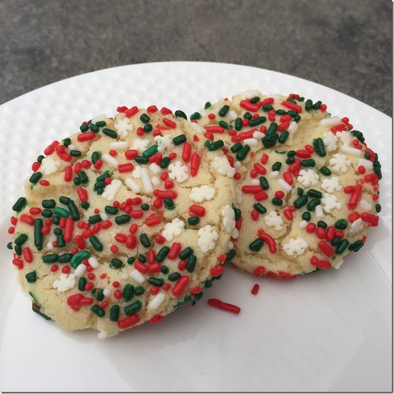Sprinkle Cookies 2