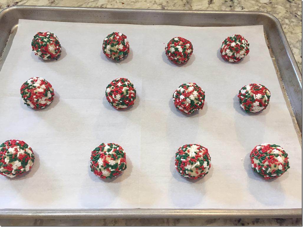 Sprinkle Cookies 4