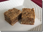 Pecan Toffee Blondies