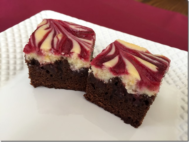 Raspberry Cheesecake Brownies 1