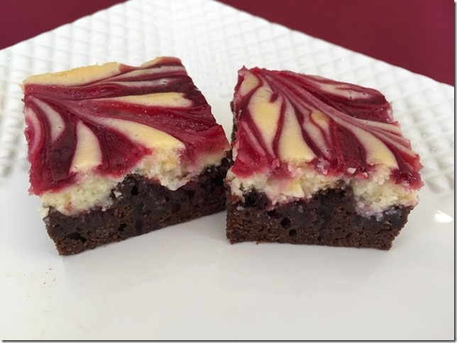 Raspberry Cheesecake Brownies 4