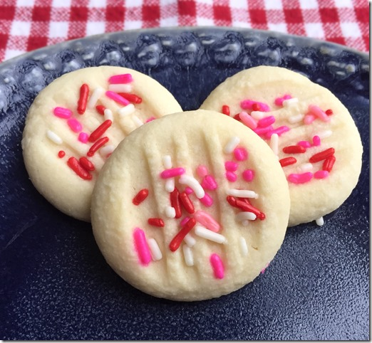 Valentine Whipped Shortbread Cookies 2